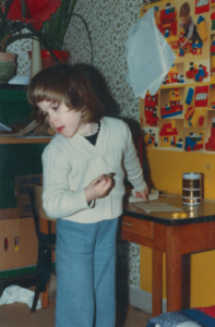 Kleuterklas september 1980