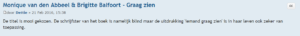 """reactie forum Leestafel Dettie """"Graag zien"""""""