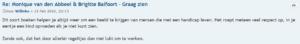 """reactie forum Leestafel Willeke """"Graag zien"""""""