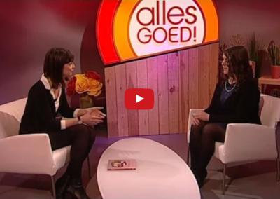 Interview over het boek 'Graag zien! Blind mama sterke vrouw' op WTV-Focus