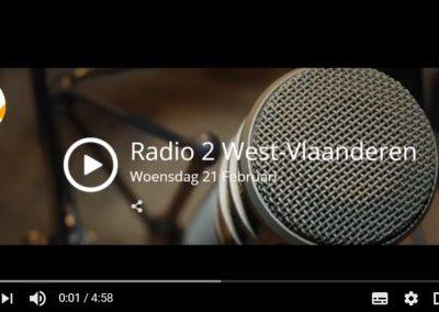 (Nederlands) Radio 2 woensdag 22 februari Interview over het assistentiepaardje Dinky en Monique Van den Abbeel